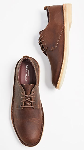 Clarks Leather Desert London Oxfords