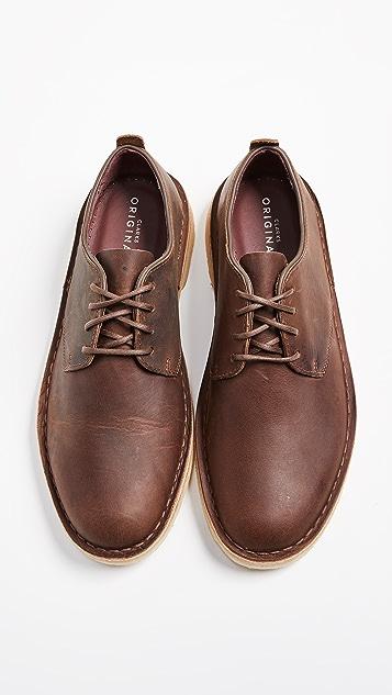 Clarks Leather Desert London Oxfords