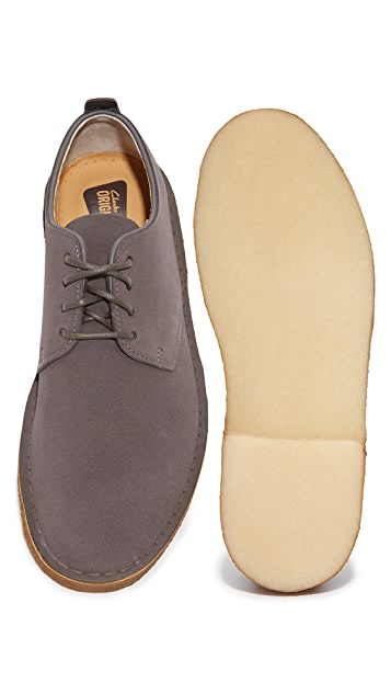 Clarks Suede Desert London Oxfords