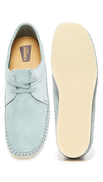 Clarks Suede Weaver Shoes
