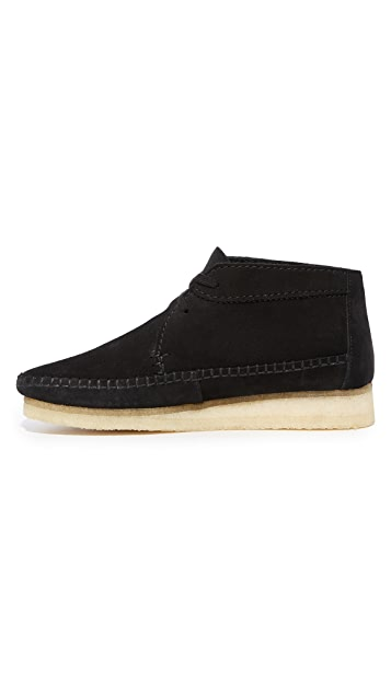 Clarks Weaver Suede Boots
