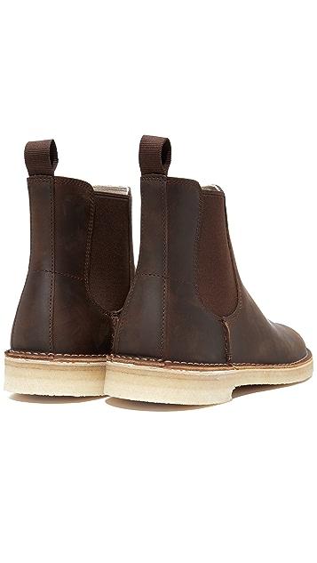 Clarks Desert Peak Chelsea Boots