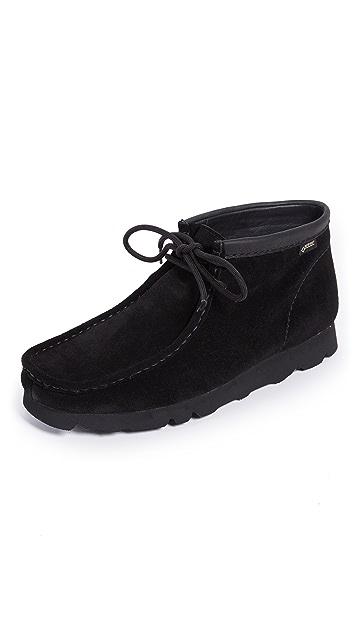 Clarks Wallabee BT GTX Suede Boots
