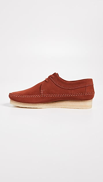 Clarks Weaver Suede Shoes