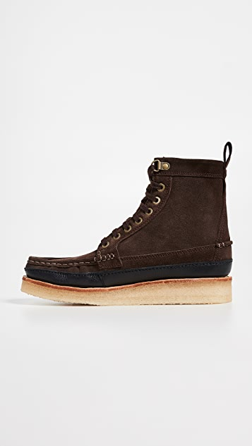 Clarks Wallace Mid Suede Boots