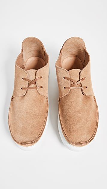 Clarks Seven Suede Shoes