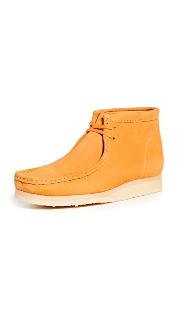 Clarks Suede Wallabee Boots