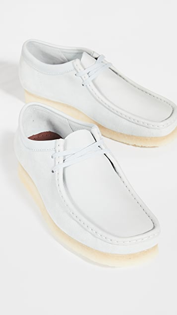Clarks Wallabee Lace Up Shoes