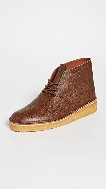 Clarks Desert Coal Booties