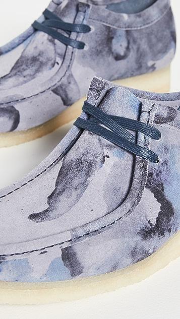 Clarks Camo Wallabee Boots
