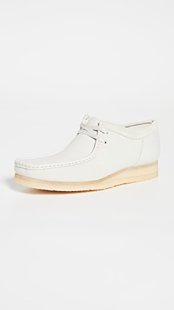 Clarks Two Color Wallabee Boots