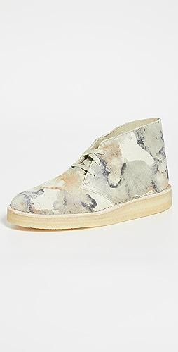 Clarks - Camo Desert Coal Boots