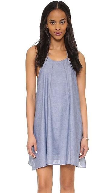 CLAYTON Chambray Leah Dress