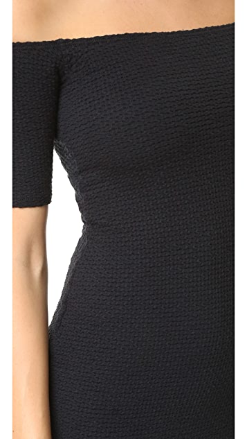 CLAYTON Bubble Knit Bev Dress