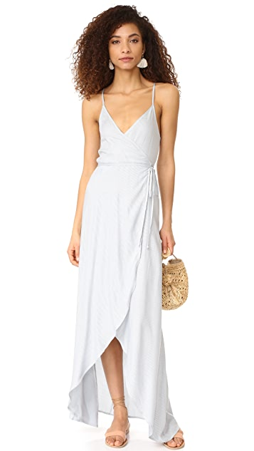 CLAYTON Stripe Twill Camryn Dress