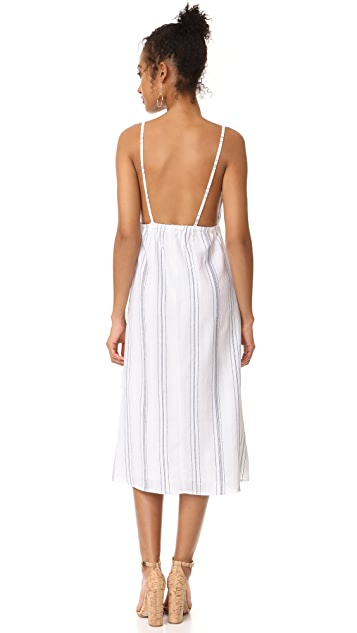 CLAYTON Coastal Stripe Harmony Dress