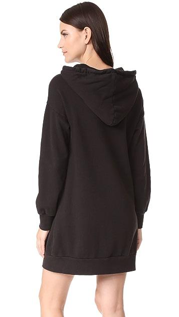 CLAYTON Hoodie Sweatshirt Dress