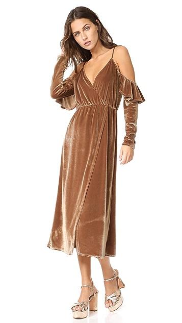 CLAYTON Velour Sandee Dress