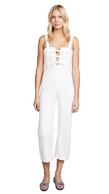 CLAYTON Darcie Denim Jumpsuit