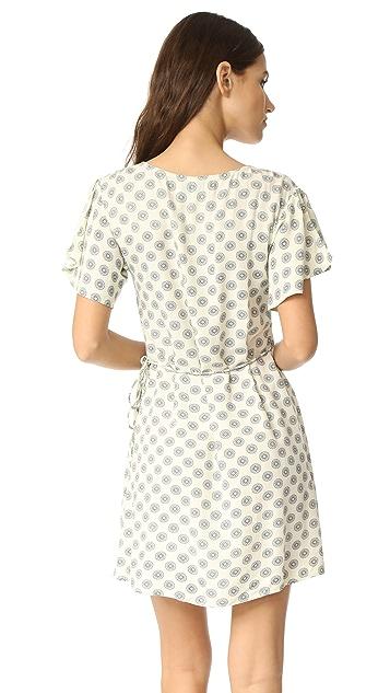 Cleobella Oxford Wrap Dress