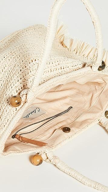 Cleobella Объемная сумка с короткими ручками Isla