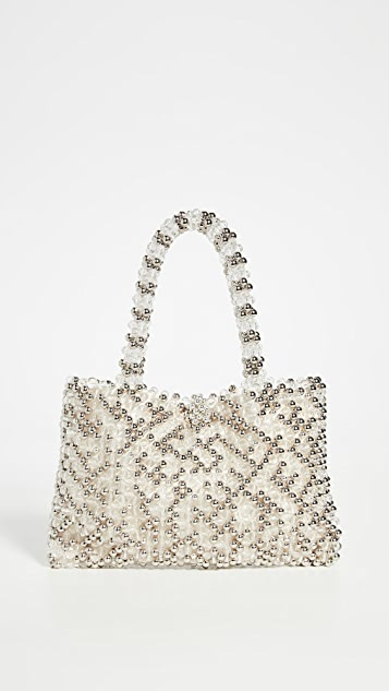 Cleobella Объемная сумка с короткими ручками Soiree