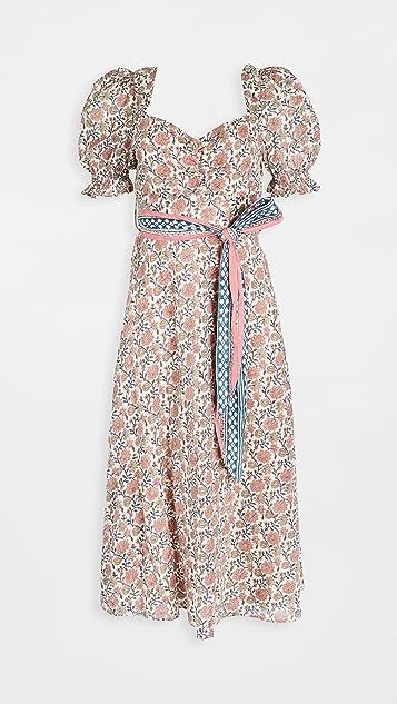 Cleobella Fresia Block Midi Dress