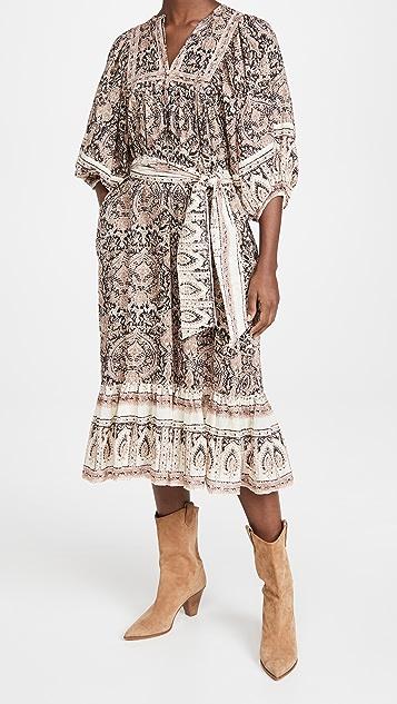 Cleobella Magdalena 中长连衣裙