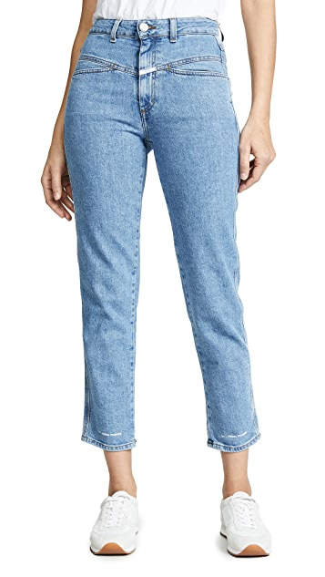 Closed Pedal Pusher Jeans