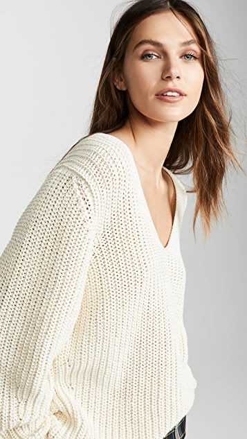 Closed Pull Over Sweater