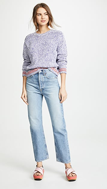 Closed Violet Sweater
