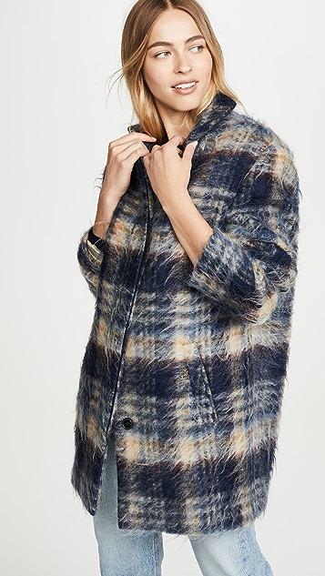 Closed Bubble Pori Sweater Coat