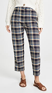 Tony Plaid Pants