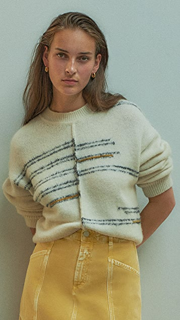 Closed Patterened Pullover