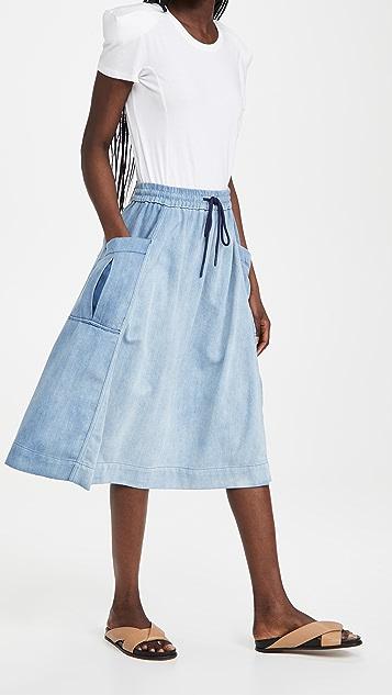 Closed Dahlia Skirt