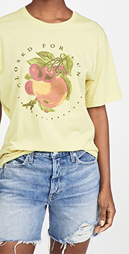 Closed - Closed For Lunch Tee