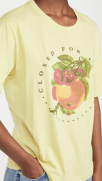 Closed Closed For Lunch Tee