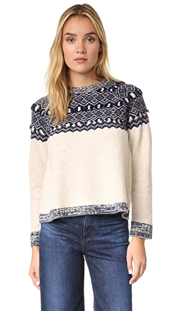 Clu Clu Too Fair Isle Pullover