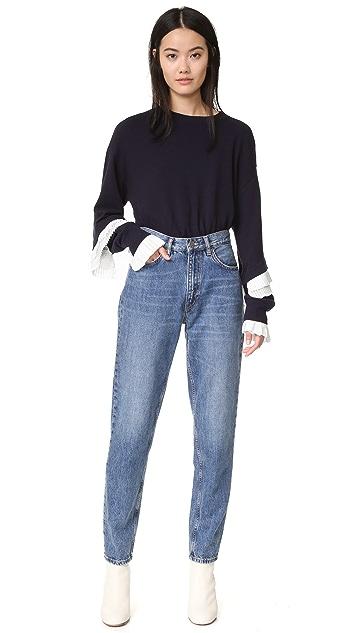 Clu Sweatshirt with Pleating