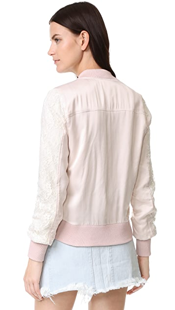 Clu Lace Bomber Jacket