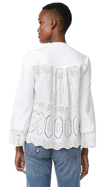 Clu Mix Media Sweatshirt