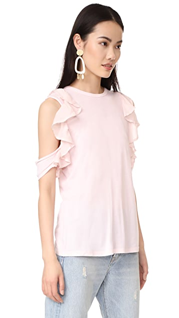 Clu Ruffle Detailed Top