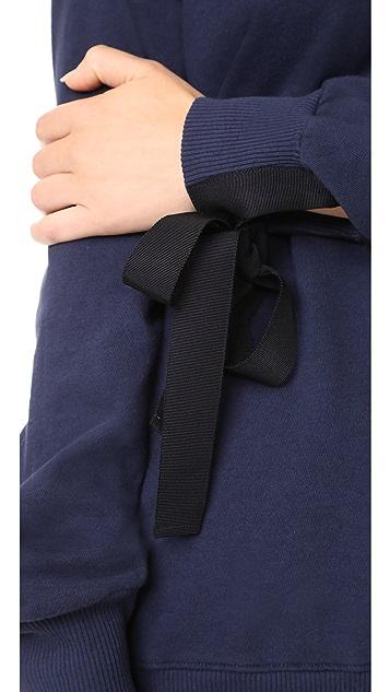 Clu Tie Detailed Pullover