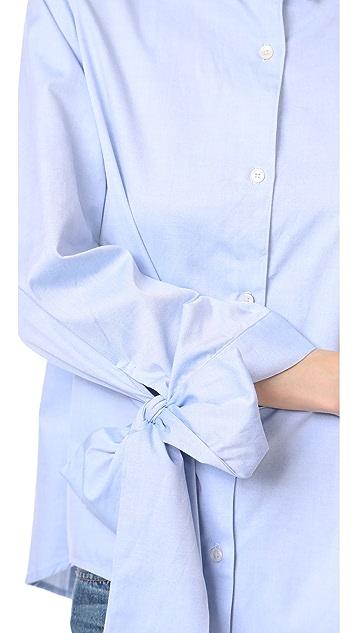 Clu Bow Tie Cuff Shirt