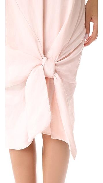 Clu Tie Hem Dress