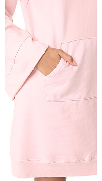Clu Clu Too Bell Sleeve Sweatshirt Dress