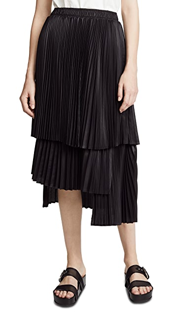 Clu Pleated Skirt