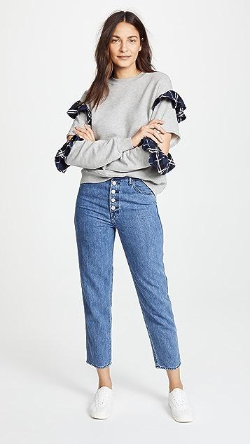 Clu Ruffle Sweatshirt
