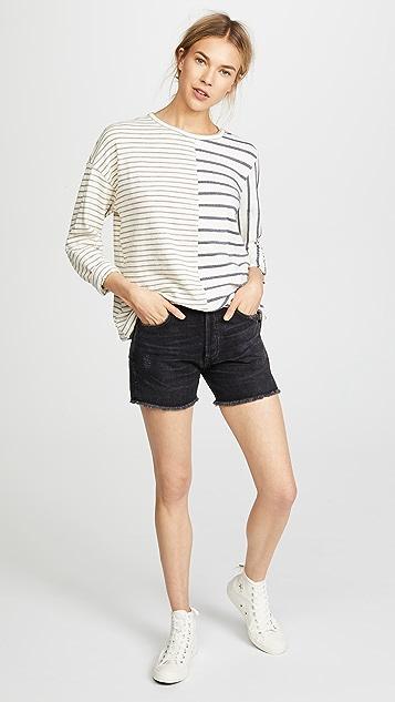 Clu Striped Long Sleeve Tee