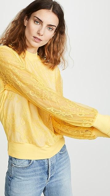 Clu 蕾丝套头衫